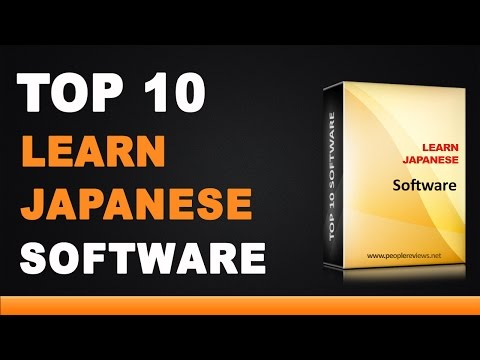 Best Japanese Learning Software - Top 10 List
