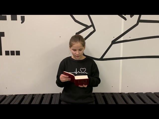 Леськина Алена читает произведение «Первый соловей» (Бунин Иван Алексеевич)