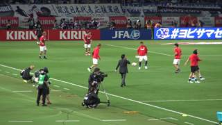 ボール扱い、キック精度等うまさは健在だった宇佐美貴史の練習の様子17.06.07 キリンカップ日本代表1-1シリア代表 thumbnail