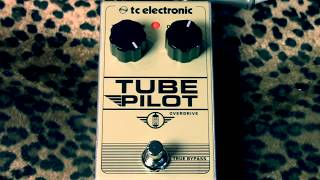 TC Electronic TUBE PILOT overdrive pedal demo with Suhr Tele & Princeton Amp