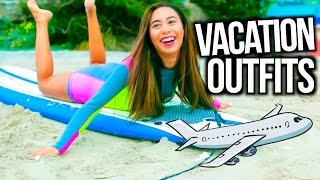 Outfit Ideas For Vacation + Spring Break Lookbook! | MyLifeAsEva