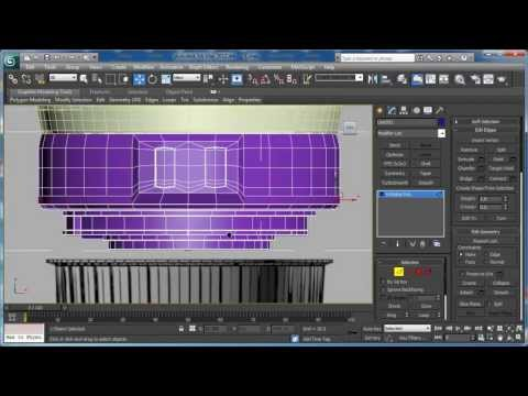 Tutorial: Model the Canon EF-S 55-250mm Zoom Lens in 3D Studio Max: Part 1 (New Audio Track)