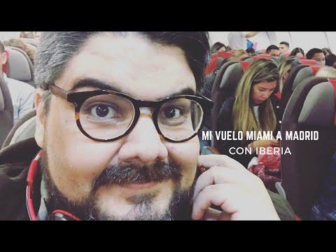 Mi Vuelo Miami A Madrid Con IBERIA