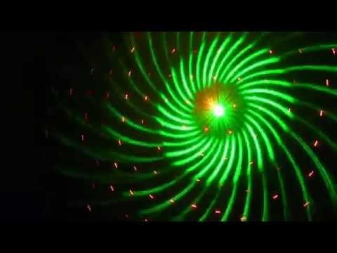 Eight big pattern laser / karaoke room lights/ club light