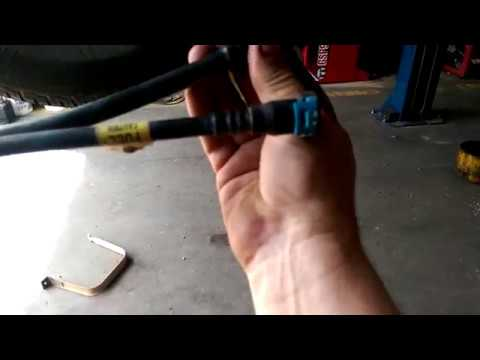 2007 Ford fuel line and Evap connections removal  - YouTube