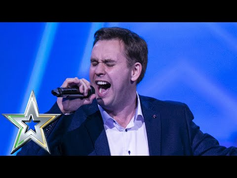 Barry Darcy gets Louis&39;s GOLDEN BUZZER with tear jerking performance  Ireland&39;s Got Talent 2019