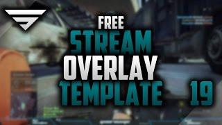 Free Twitch Overlay & Donation Popup   Speedart #19