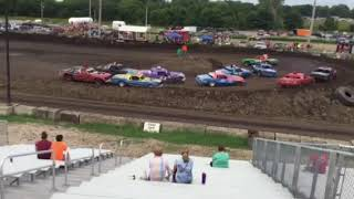 Figure 8 Racing in Hampton @ 2pm 8/19/18 Cruisers Feature Pt 2