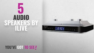 Top 5 Ilive Audio Speakers [2018]: iLive iKB333S Under Cabinet Radio with Bluetooth Speakers