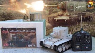 танк на радиоуправлении видео