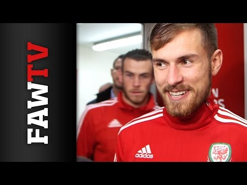 Aaron Ramsey and Gareth Bale on qualifying for UEFA EURO 2016