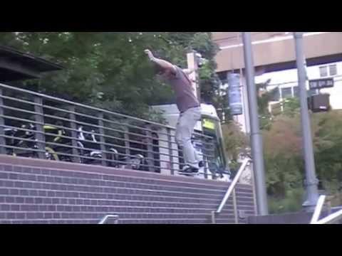 "James "" The Real "" Mccoy Skateboarding"