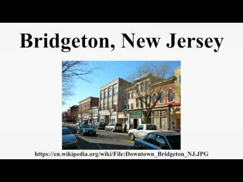 Bridgeton, New Jersey