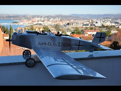 Junkers CL1 1:8 aircombat first flight