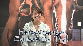 Horse Names Equestrian Tag - SmartPaker Sarah