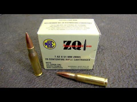 ZQI Ammo 7.62x51 (.308) Walmart Garbage ? - Two Gun Test