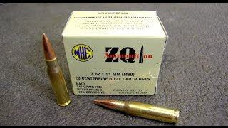 zqi ammo 7 62x51 308 walmart garbage two gun test