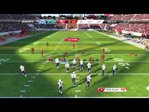 Madden NFL 16 PS3 Week 1 Gameplay Tennessee Titans vs Tampa Bay Buccaneers