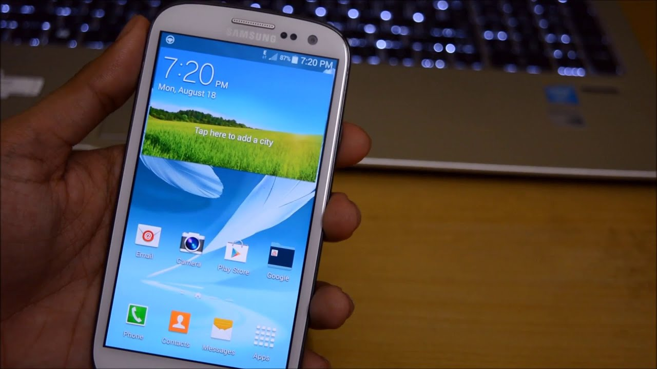 samsung galaxy s3 mini touchwiz stopped working