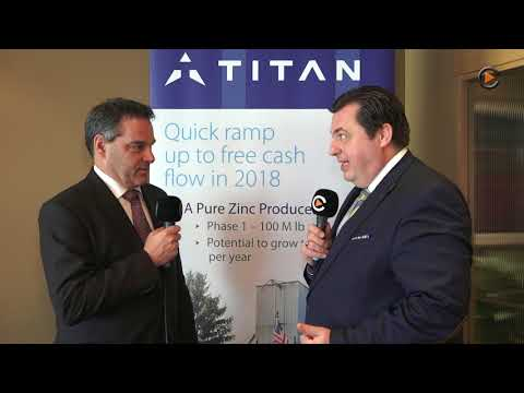 Titan Mining: Commencing Commercial Zinc Production In US