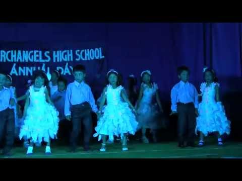 Archangels Annual Day 2014 -  Dance by UKG - Aaj...