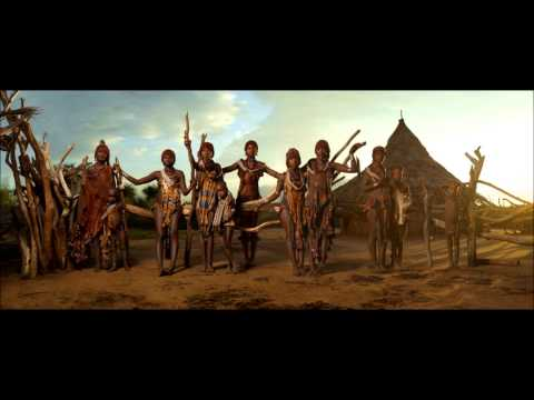 Hamar (Ethiopia)  Calming down song + flute tune