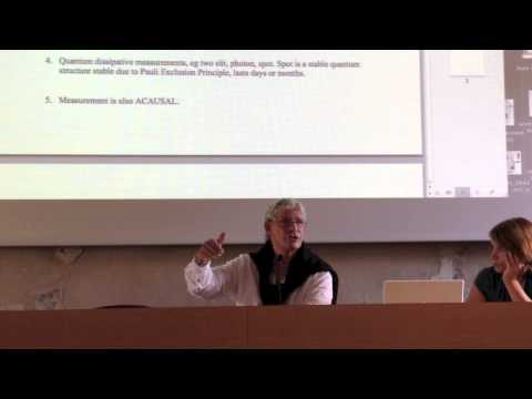 "Stuart Kauffman: ""Answering Descartes: Beyond Turing"""