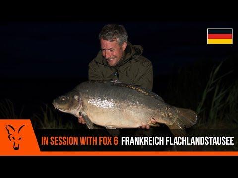 ***Karpfenangeln TV*** In Session with Fox 6 - Frankreich Flachlandstausee