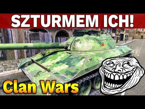 SZTURMEM ICH! - Bitwy Klanowe z G100 - World of Tanks