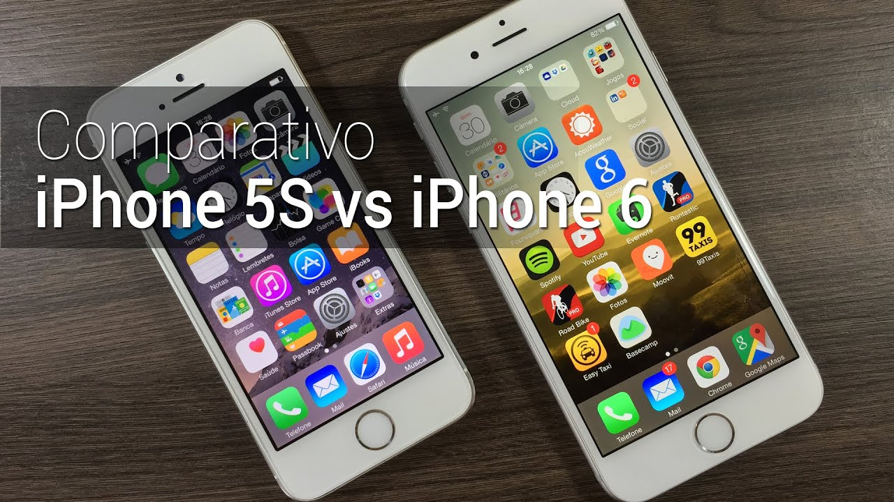 iphone 6 v s iphone 5s comparativo iphone 5s vs iphone 6 tudocelular 19339
