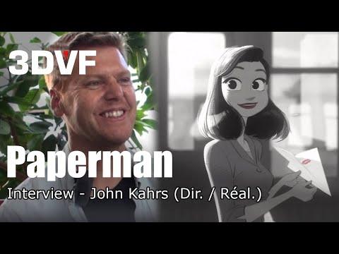 Interview 3DVF : John Kahrs réalisateur du court-métrage Paperman