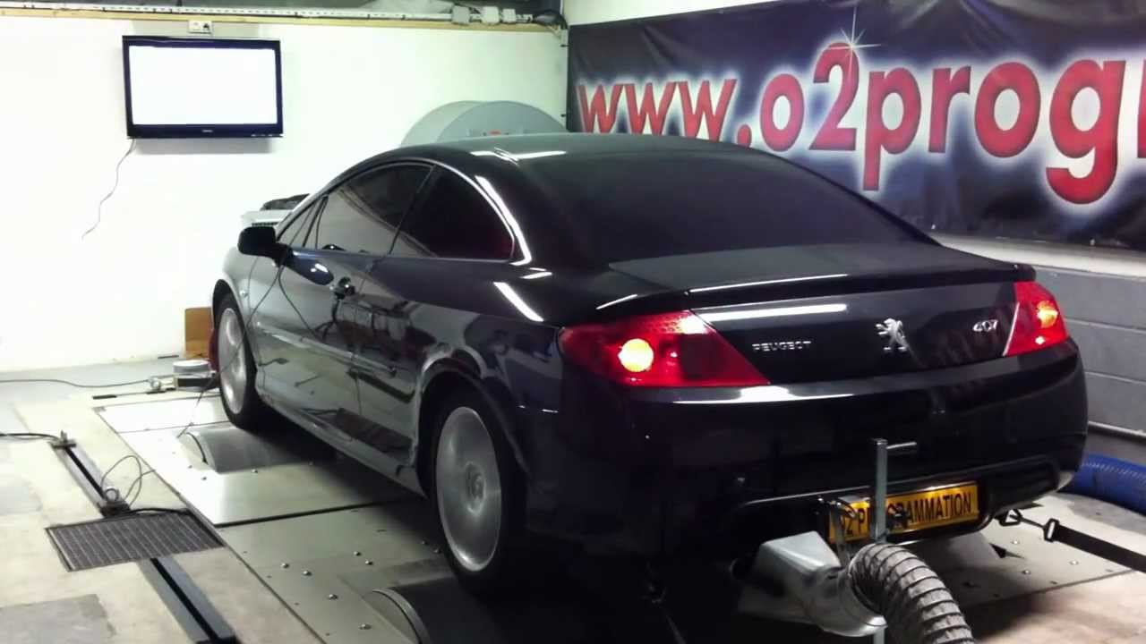test dyno reprogrammation moteur peugeot 407 2 7 hdi 204ch. Black Bedroom Furniture Sets. Home Design Ideas