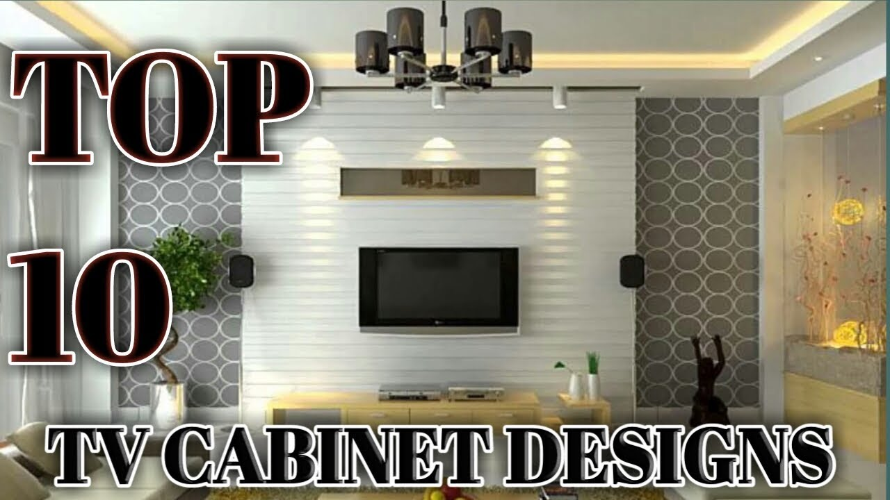 10 Simple TV Unit Designs for Living Room || Modern TV ...