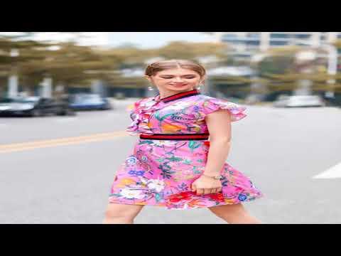 2018 High Quality Europe American Lady Summer Chiffon Dress Female