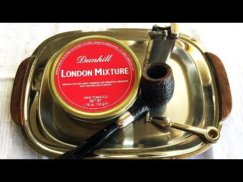 """Pipe Tobacco Review: Dunhill """"London Mixture"""""""