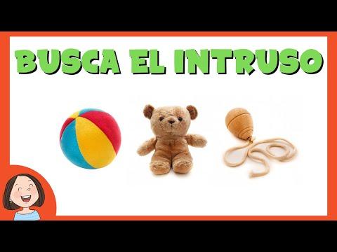 Busca el intruso 2 | Categorías semánticas