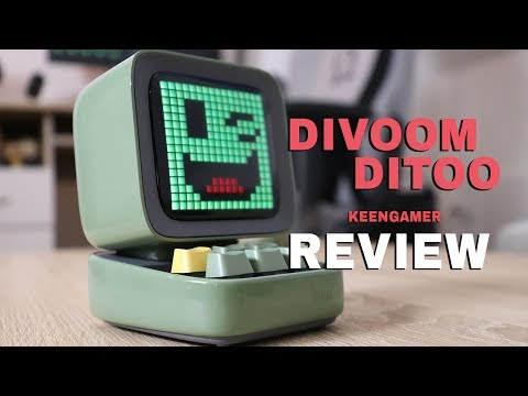 Divoom Ditoo Pixel-Art Bluetooth Speaker Review
