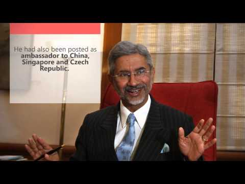 All about India's new foreign secretary S. Jaishankar in 60 seconds!