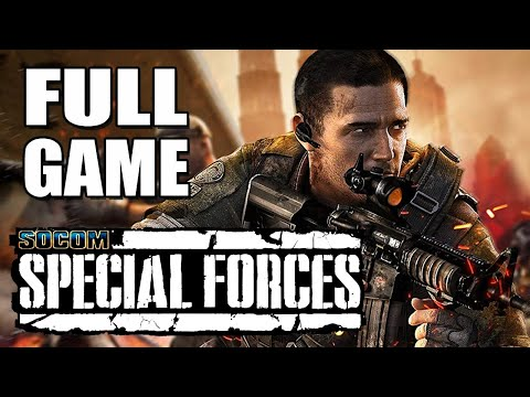 SOCOM: Special Forces (SOCOM 4: U.S. Navy SEALs) - Full Game Walkthrough - No Commentary Longplay