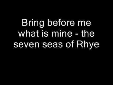 Queen - Seven Seas Of Rhye (Lyrics)