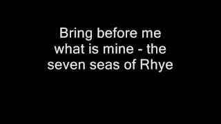 Queen - Seven Seas Of Rhye (Lyrics)