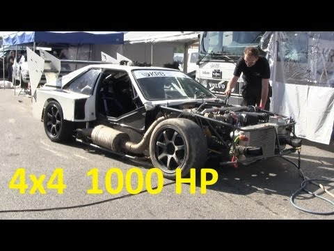 AUDI S1 1000 hp MONSTER - by KRB Trading