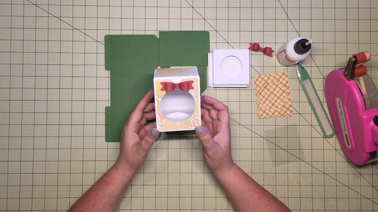 Cricut Design Space Ornament Box How To Assemble YouTube