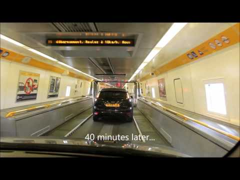 Eurotunnel from France