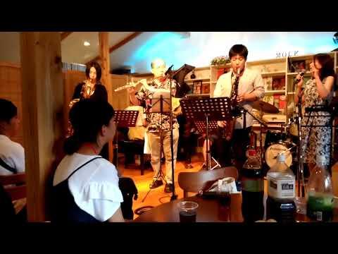 Summer Jazz Camp in Kanazawa (2018 1st.) Day 4 (8/23)  Band 2