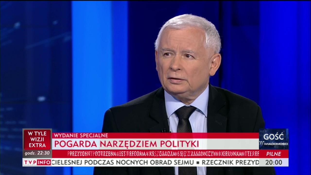 J. Kaczyński: moralny imperatyw – Gość Wiadomości
