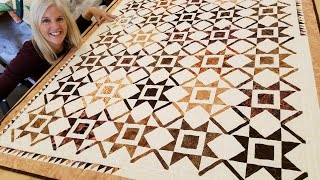 LEARN QUILTING IN 2021!!! Donna's New Year's Star Tutorial! ********FREE PATTERN********