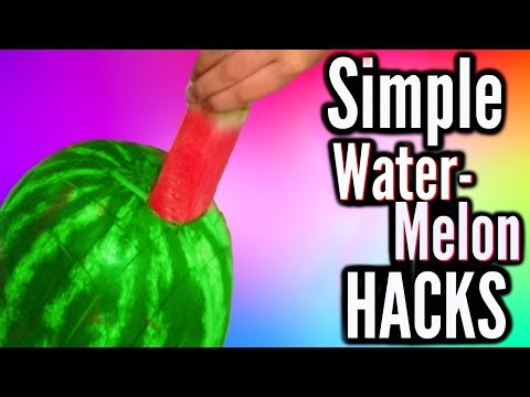 Thumbnail: Simple Hacks Everyone Should Know! Watermelon Edition!