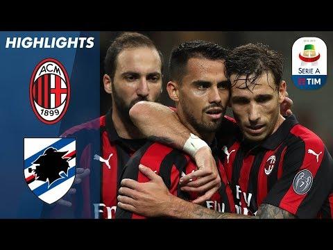 AC Milan 3-2 Sampdoria | Suso Strike Settles San Siro Thriller | Serie A