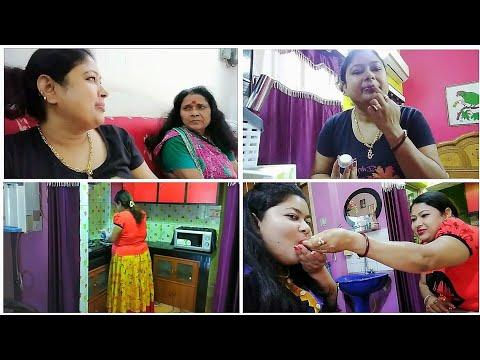 সিমরনকে কেন খাইয়ে দিলাম 😮?? Lip Care ।। Trendy Nail Duos Collection ।। পাট শাকের ঝোল